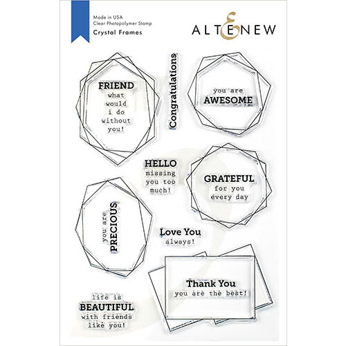 Altenew Crystal Frames