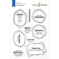 Altenew - Clear Photopolymer Stamps - Crystal Frames