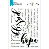 Altenew - Clear Photopolymer Stamps - Mega Greetings 4