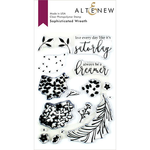 Altenew - Clear Photopolymer Stamps - Sophisticated Wreath
