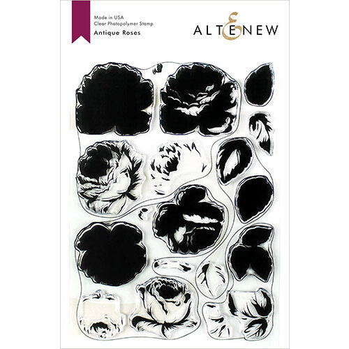 Altenew - Clear Photopolymer Stamps - Antique Roses