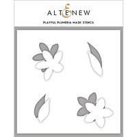 Altenew - Stencil - Playful Plumeria