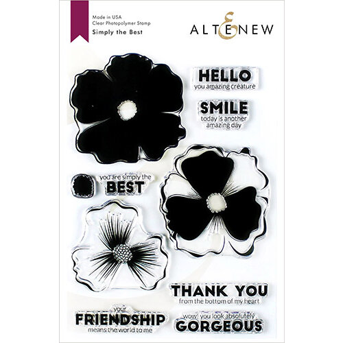 Altenew - Clear Photopolymer Stamps - Simply the Best