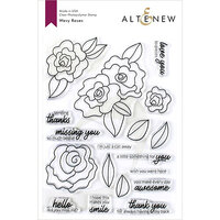Altenew - Clear Photopolymer Stamps - Wavy Roses