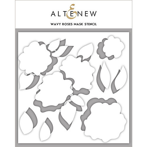 Altenew - Stencil - Wavy Roses