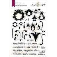 Altenew - Clear Photopolymer Stamps - Wonderful Wycinanki