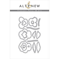 Altenew - Dies - 3D Pleasant Pansy