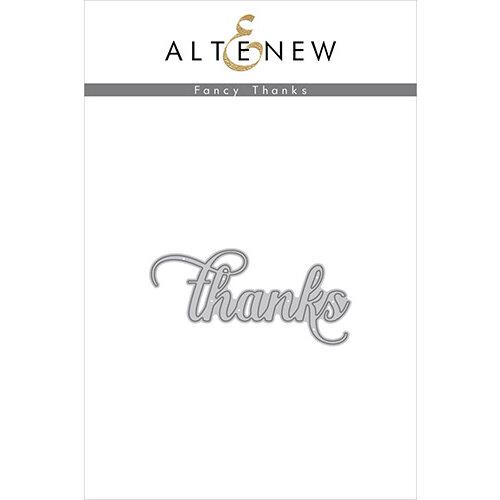 Altenew - Dies - Fancy Thanks