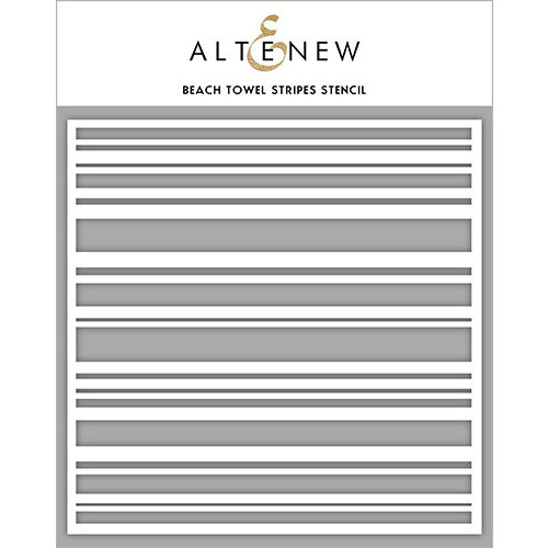 Altenew - Stencil - Beach Towel Stripes