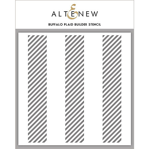 Altenew - Stencil - Buffalo Plaid Builder