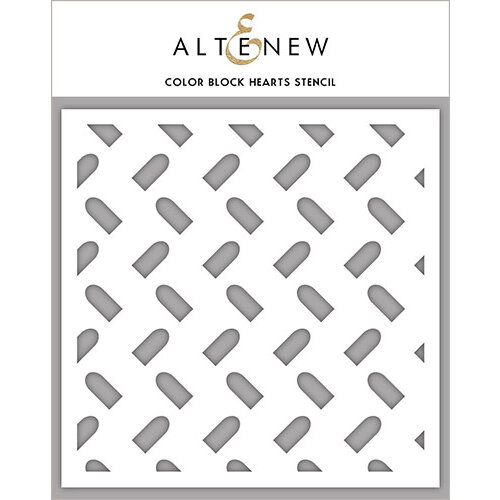 Altenew - Stencil - Color Block Hearts