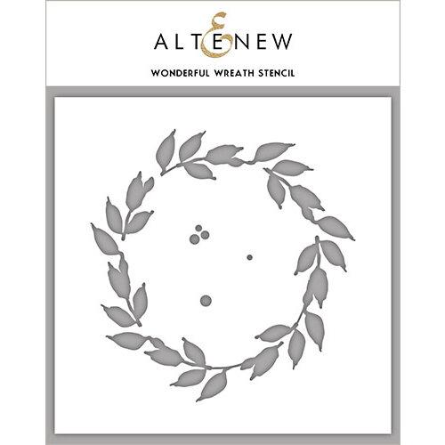 Altenew - Stencil - Wonderful Wreath