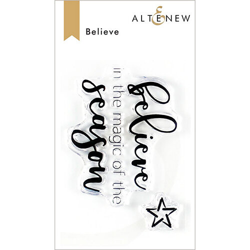 Altenew - Clear Photopolymer Stamps - Believe