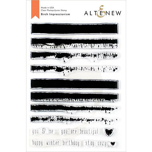 Altenew - Clear Photopolymer Stamps - Birch Impressionism