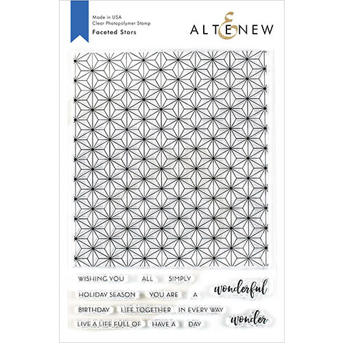 Altenew - Clear Photopolymer Stamps - Faceted Stars