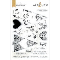 Altenew - Clear Photopolymer Stamps - Festive Foliage