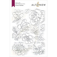 Altenew - Clear Photopolymer Stamps - Flower Garden