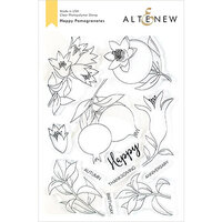 Altenew - Clear Photopolymer Stamps - Happy Pomegranates