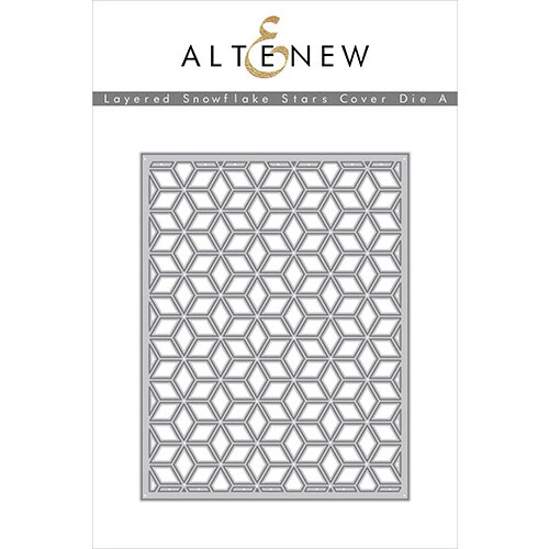 Altenew - Layering Dies - Snowflake Stars Cover A