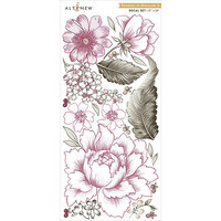 Altenew - Decal Set - Peonies In Blossom A