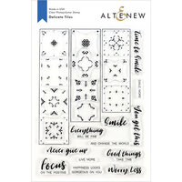 Altenew - Clear Photopolymer Stamps - Delicate Tiles