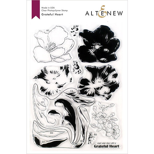 Altenew - Clear Photopolymer Stamps - Grateful Heart