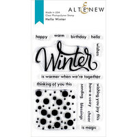 Altenew - Clear Photopolymer Stamps - Hello Winter