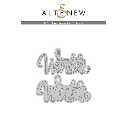 Altenew - Dies - Hello Winter