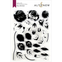 Altenew - Clear Photopolymer Stamps - Rosy Outlook
