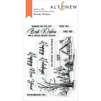 Altenew - Clear Photopolymer Stamps - Winter Wishes