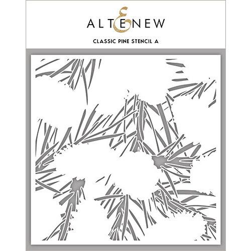 Altenew - Stencil - Classic Pine A