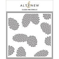 Altenew - Stencil - Classic Pine B