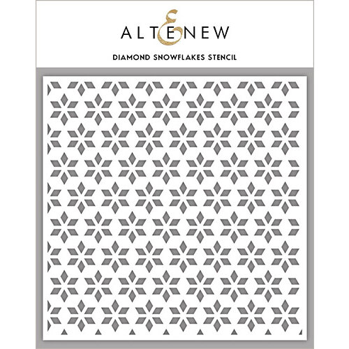 Altenew - Stencil - Diamond Snowflakes