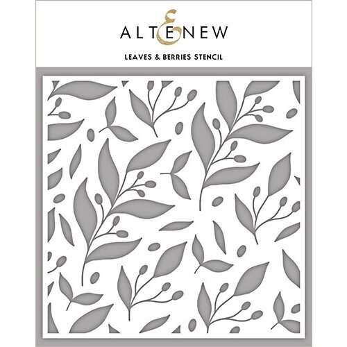 Altenew - Stencil - Leaves and Berries