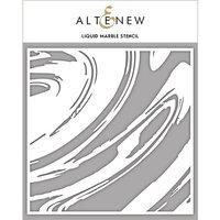 Altenew - Stencil - Liquid Marble
