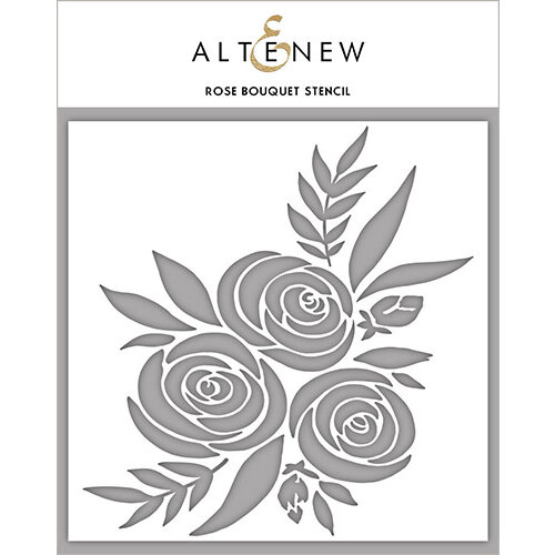 Altenew - Stencil - Rose Bouquet