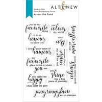 Altenew - Clear Photopolymer Stamps - Across the Pond