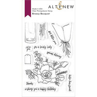 Altenew - Clear Photopolymer Stamps - Breezy Bouquet