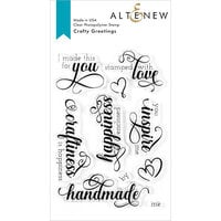 Altenew - Clear Photopolymer Stamps - Crafty Greetings