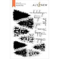 Altenew - Clear Photopolymer Stamps - Plentiful Pine