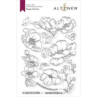 Altenew - Clear Photopolymer Stamps - Poppy Garden