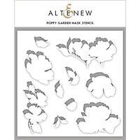 Altenew - Stencil - Poppy Garden