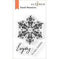 Altenew - Clear Photopolymer Stamps - Small Moments