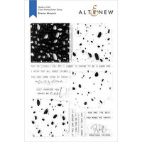 Altenew - Clear Photopolymer Stamps - Stone Mosaic