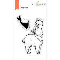 Altenew - Clear Photopolymer Stamps - Alpaca