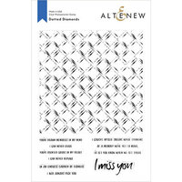 Altenew - Clear Photopolymer Stamps - Dotted Diamonds