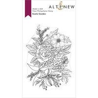 Altenew - Clear Photopolymer Stamps - Exotic Garden