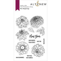 Altenew - Clear Photopolymer Stamps - New Beginnings