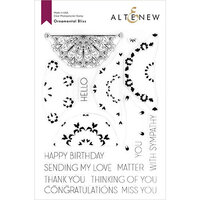 Altenew - Clear Photopolymer Stamps - Ornamental Bliss
