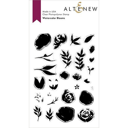 Altenew - Clear Photopolymer Stamps - Watercolor Blooms